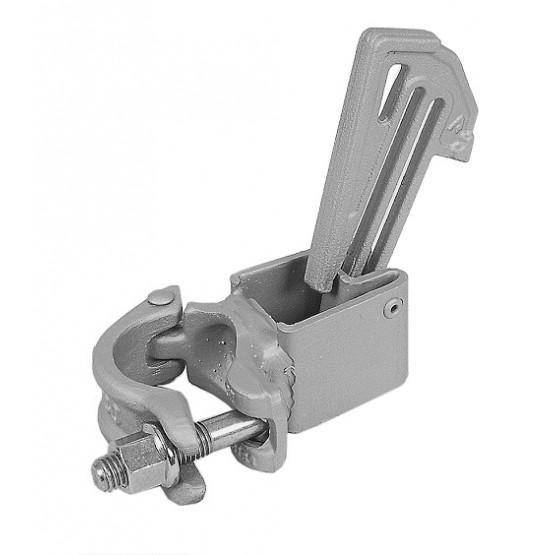 Lock for steel railing