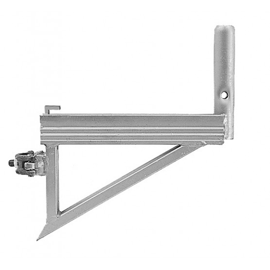 Steel bracket with clamp 0,36 m
