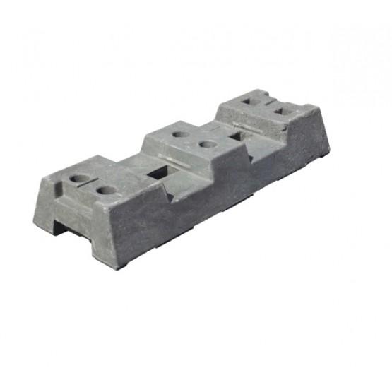 Recycling base, grey PE16