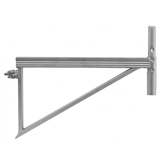 Steel bracket with clamp 0,73 m