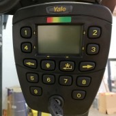 Elektrinis krautuvas YALE ERP18VF MWB A955B06222T