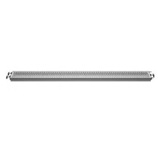 Настил стальной  с зацепками для трубы 1,57x0,19* м