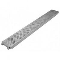 Steel platform 4,14x0,32 m