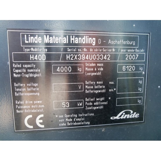 Linde H40D