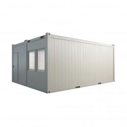 Dviguba konteinerinė patalpa 20p (6x5 m)