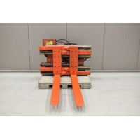 Fork positioner with 360° rotator