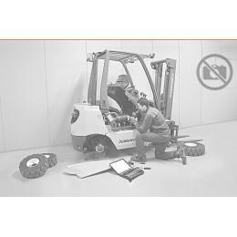DURWEN Fork positioner with 360° rotator and side shift